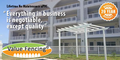 Value Fencing PVC Durban Fencing